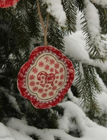 Vánoční voňavá ozdoba - Bonbons