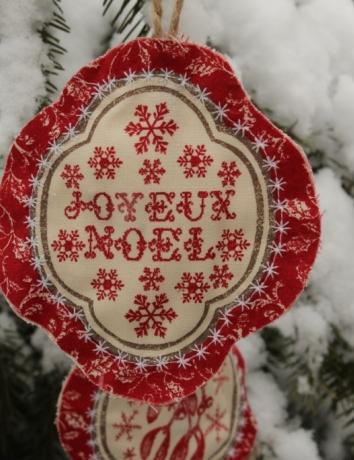 Vánoční voňavá ozdoba - Noel