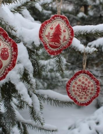 Vánoční voňavá ozdoba - Ozdoby