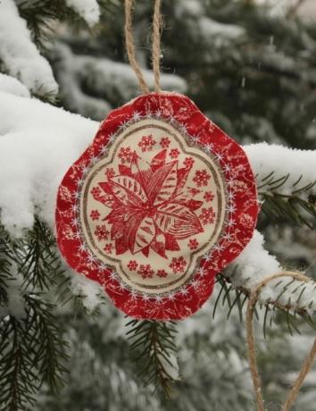 Vánoční voňavá ozdoba - Vánoční hvězda - Poisentie