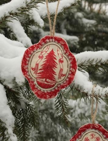 Vánoční voňavá ozdoba - Stromek