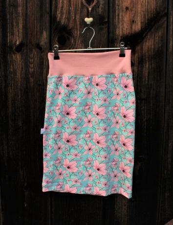 Úpletová sukně  Magnolie