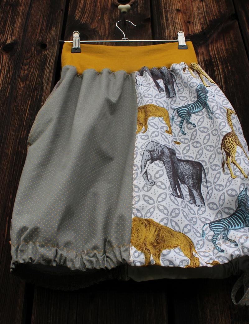 Kapsová sukně Jungle