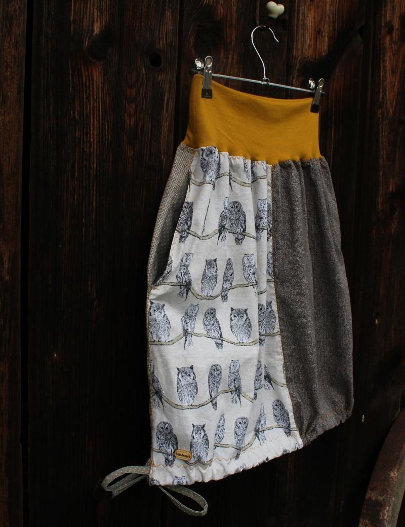 Kapsová sukně Sůvy