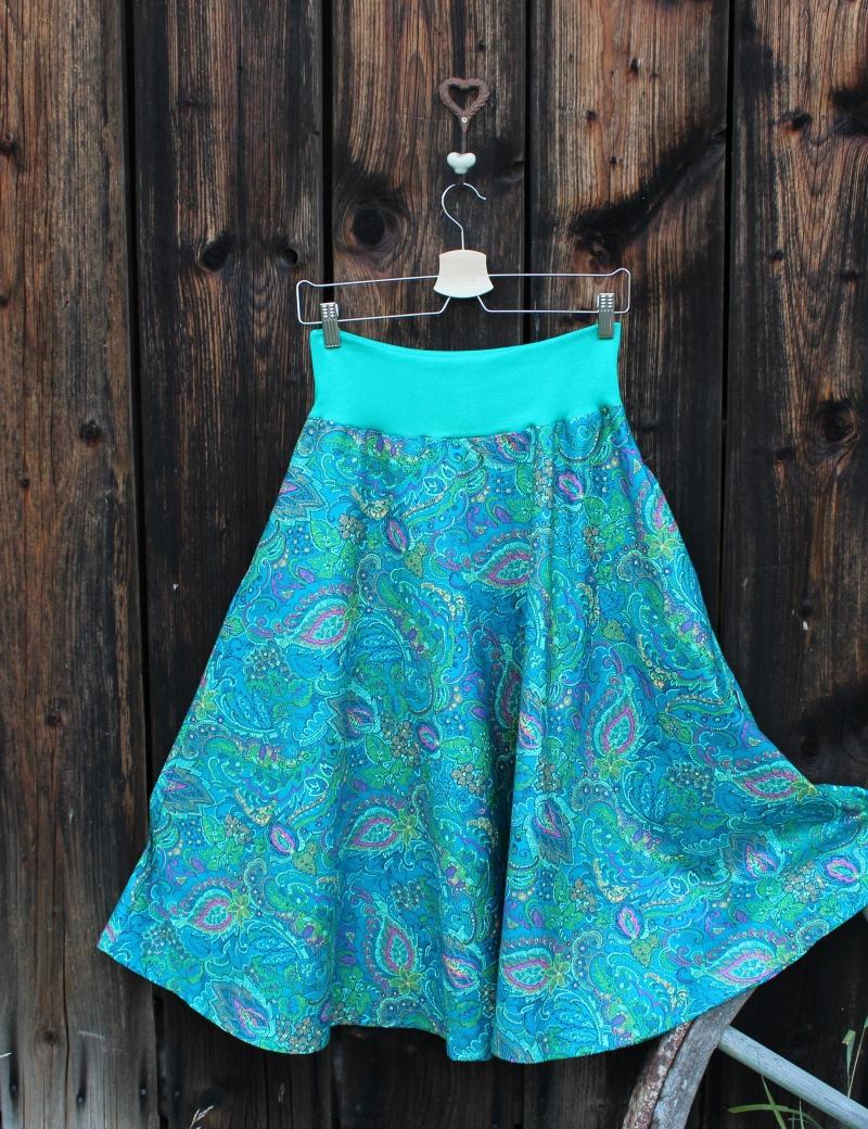 Půlkolová sukně Ashtyn